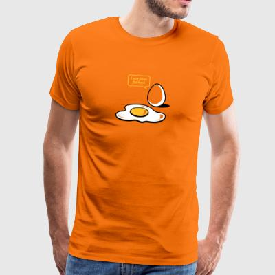 Fried Egg, I Am Your Father! - Men's Premium T-Shirt