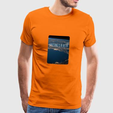 Alles is in boter - Shirt - Mannen Premium T-shirt