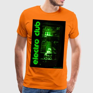 e cabinet electro club - Men's Premium T-Shirt