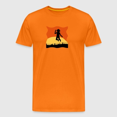 jumping - Men's Premium T-Shirt