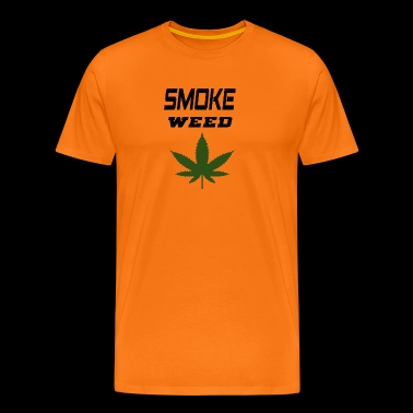smoke weed - Men's Premium T-Shirt