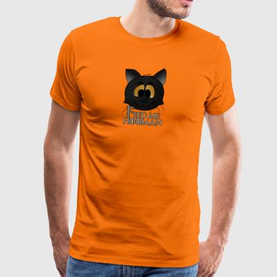 Feed me hooman - Men's Premium T-Shirt