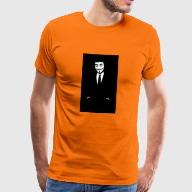 wallpaper wiki HD Anonymous Wallpaper for Iphone P - Men's Premium T-Shirt