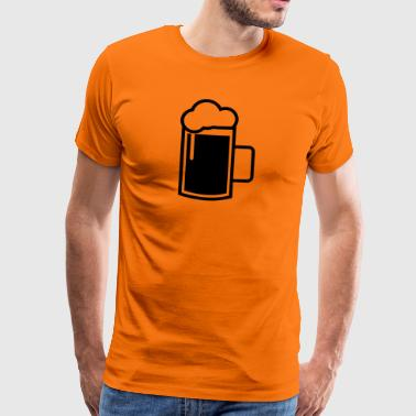 beer mug - Men's Premium T-Shirt