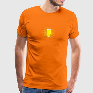 Beer Pint Star - Men's Premium T-Shirt