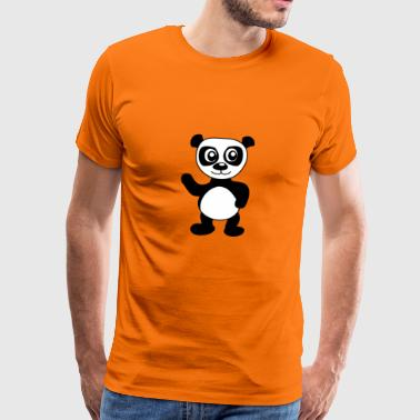 Angulation Santander Panda - Men's Premium T-Shirt