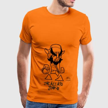 pissed JONES - Men's Premium T-Shirt