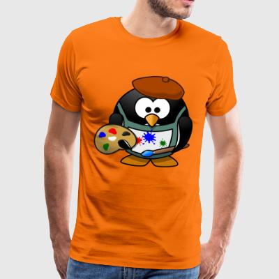 Piwisso the painter - Men's Premium T-Shirt