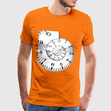 And it's the time that runs - Men's Premium T-Shirt