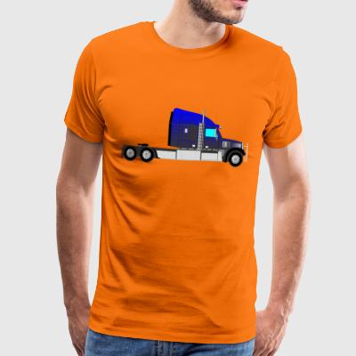 Truck heavy trucks - Men's Premium T-Shirt