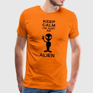 ++Just an Alien++ - Männer Premium T-Shirt