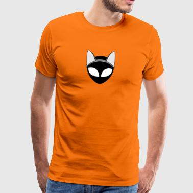 Chat extraterrestre - T-shirt Premium Homme