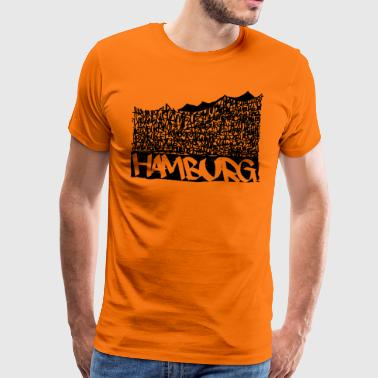 Hamburg Music Hall - Sort - Herre premium T-shirt
