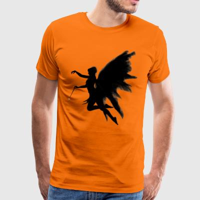 Illia the angel and his magic wand - Men's Premium T-Shirt