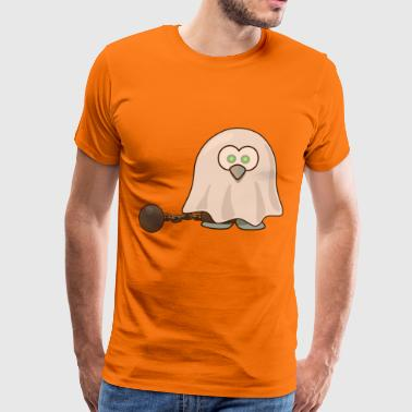 Ghost and ball - Men's Premium T-Shirt