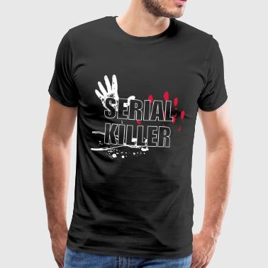 Serial Killer - Mannen Premium T-shirt