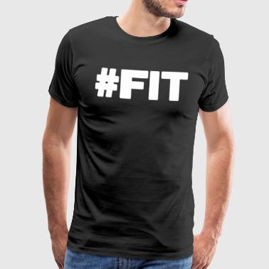 #FIT - Mannen Premium T-shirt