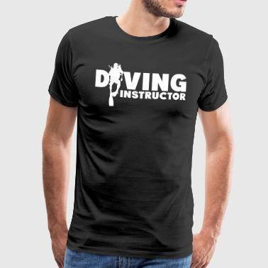Diving Instructor - Herre premium T-shirt