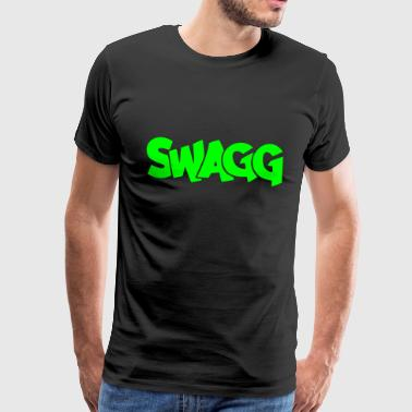 Swagg graff - Men's Premium T-Shirt