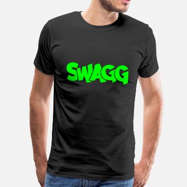 Swag Swagg Swagg graff - Men's Premium T-Shirt