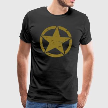 Army Star old Style - Männer Premium T-Shirt