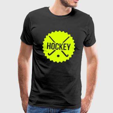 hockey - Mannen Premium T-shirt