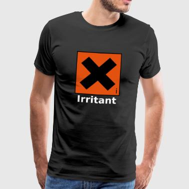 Irritant Safety Symbol - Men's Premium T-Shirt