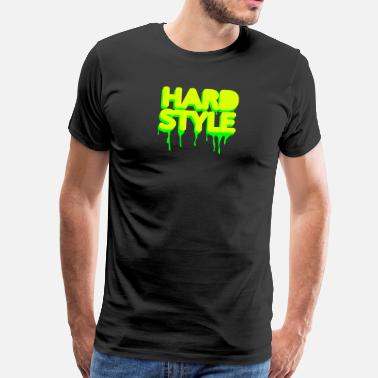 Hard With Style hardstyle techno jump - Mannen Premium T-shirt