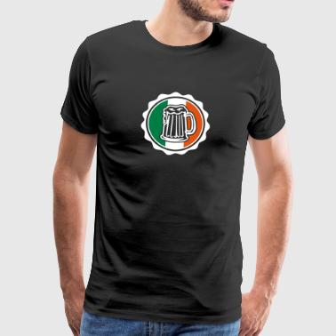Irish Beer Crest - Mannen Premium T-shirt