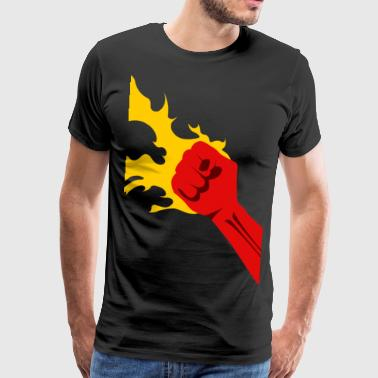 Power Fist Power Fist - Men's Premium T-Shirt