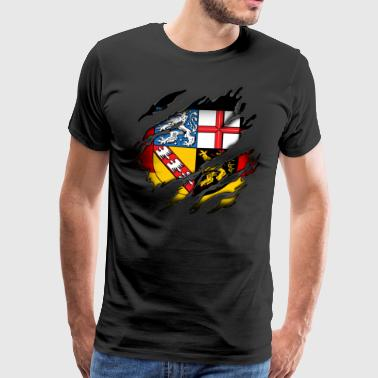 Saarland in me - Men's Premium T-Shirt