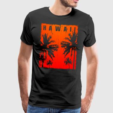 Hawaii Hawaii Vintage - Men's Premium T-Shirt