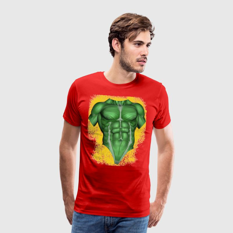 green muscles anatomy cool gift idea by watter.bus | Spreadshirt