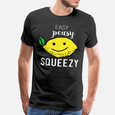 Lemon Nemlig PEASY LEMON SQUEEZY stilfuld T-shirt - Herre premium T-shirt