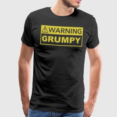 Attention grincheux - T-shirt Premium Homme