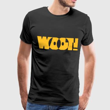 Woot! - Men's Premium T-Shirt