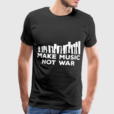 Connects Piano music - Men's Premium T-Shirt