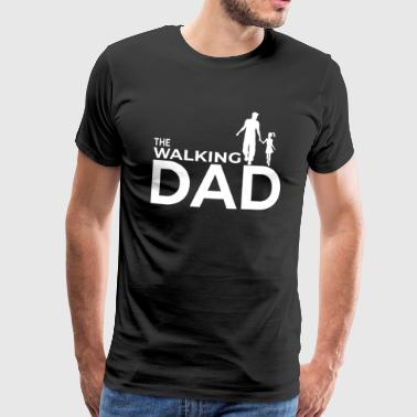 Hausmann Father daughter day family gift offspring dad - Men's Premium T-Shirt