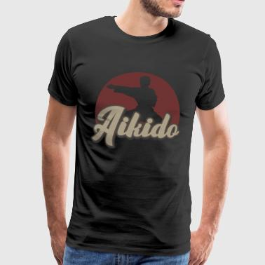 Samurai Art Aikido Martial Arts Japan Martial Arts Gift - Men's Premium T-Shirt