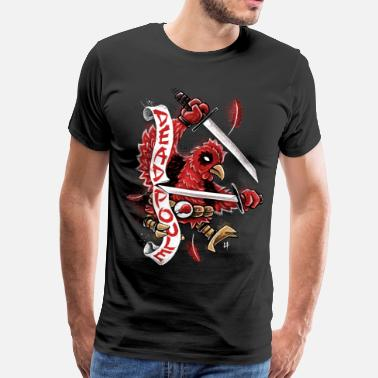 Deadpool Dead Poule - Premium T-skjorte for menn