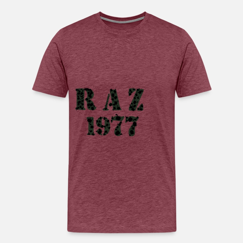 FAMILY NAME Birth Year Birthday Present Cool Mens Premium T Shirt