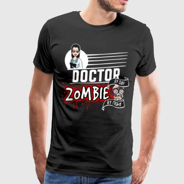 Female Doctor - Zombie by night - Männer Premium T-Shirt