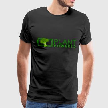 Plant Powered Vegan - Plant Powered Energy (Broccoli) - Men's Premium T-Shirt