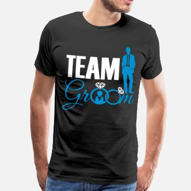 Bride And Groom Team Groom - Camiseta premium hombre