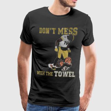 Don't mess with the towel - Men's Premium T-Shirt