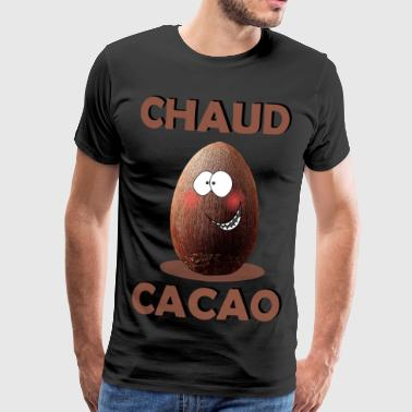 chaud cacao - T-shirt Premium Homme