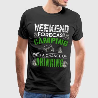 Weekend Camping - Men's Premium T-Shirt