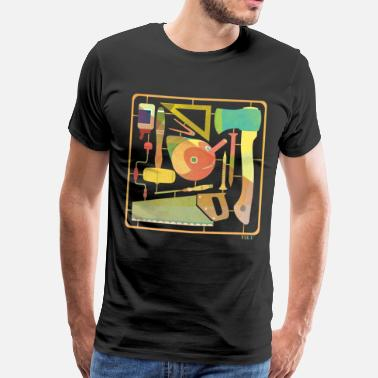 wood_pino - Men's Premium T-Shirt