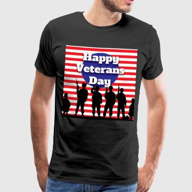 England Veterans day - Men's Premium T-Shirt