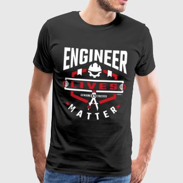 Engineer Lives - Men's Premium T-Shirt